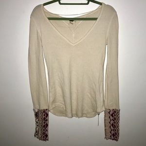 Super cute free people long sleeve